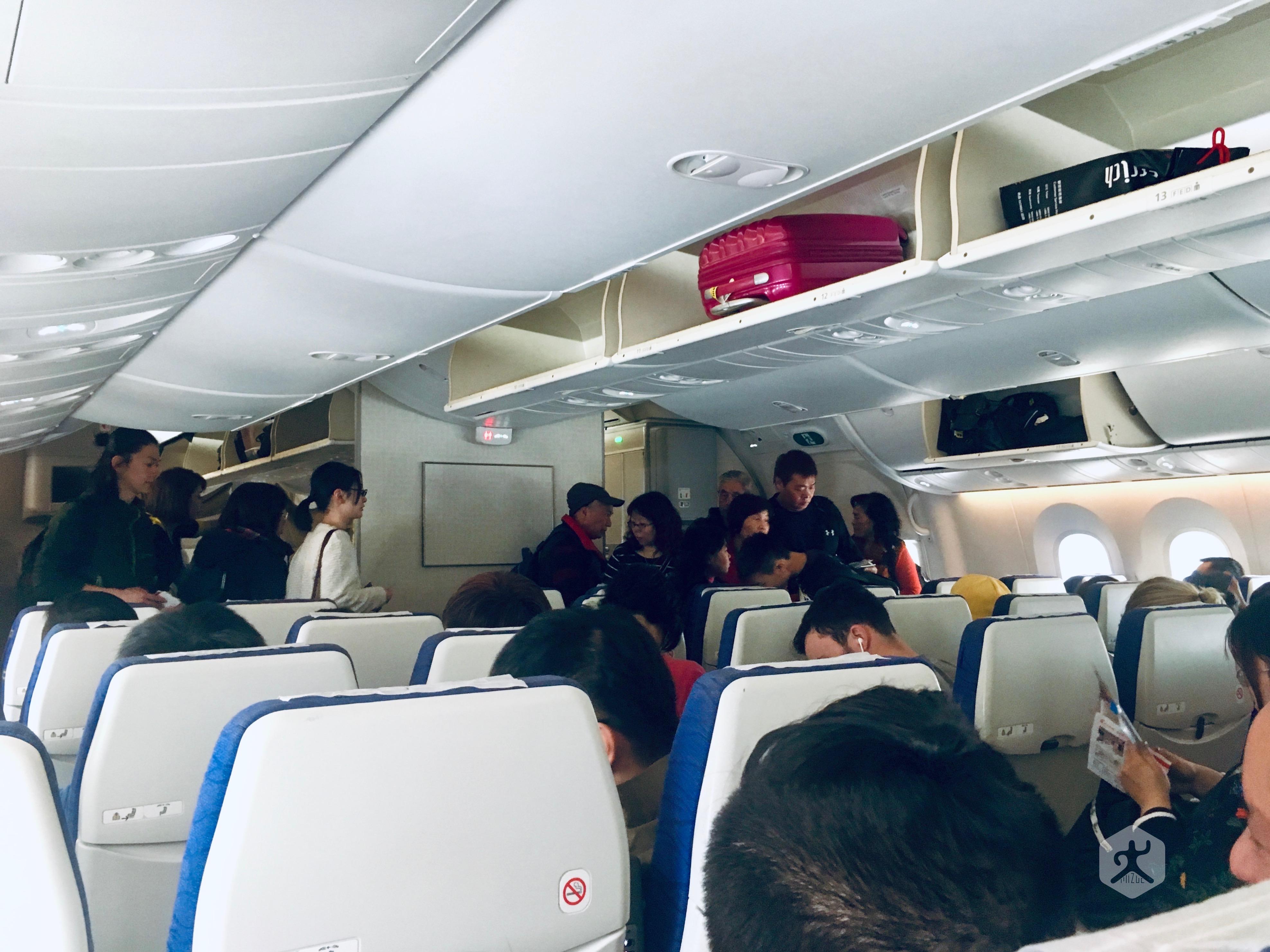Scoot Aviation Cabin Seat Boeing 787 201903