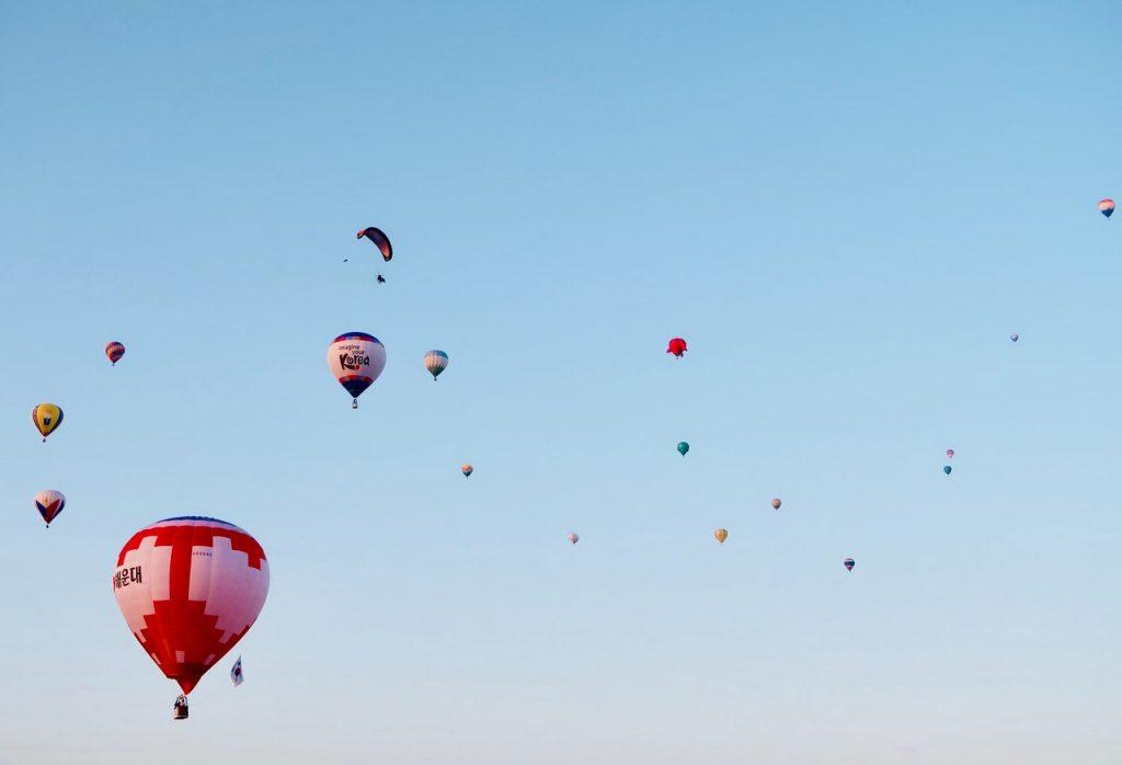 臺東鹿野高台熱氣球的觀賞時間注意事項